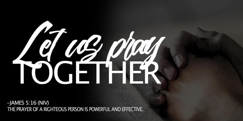 NGUMC: Let Us Pray Together: 40 Days of Prayer and Fasting