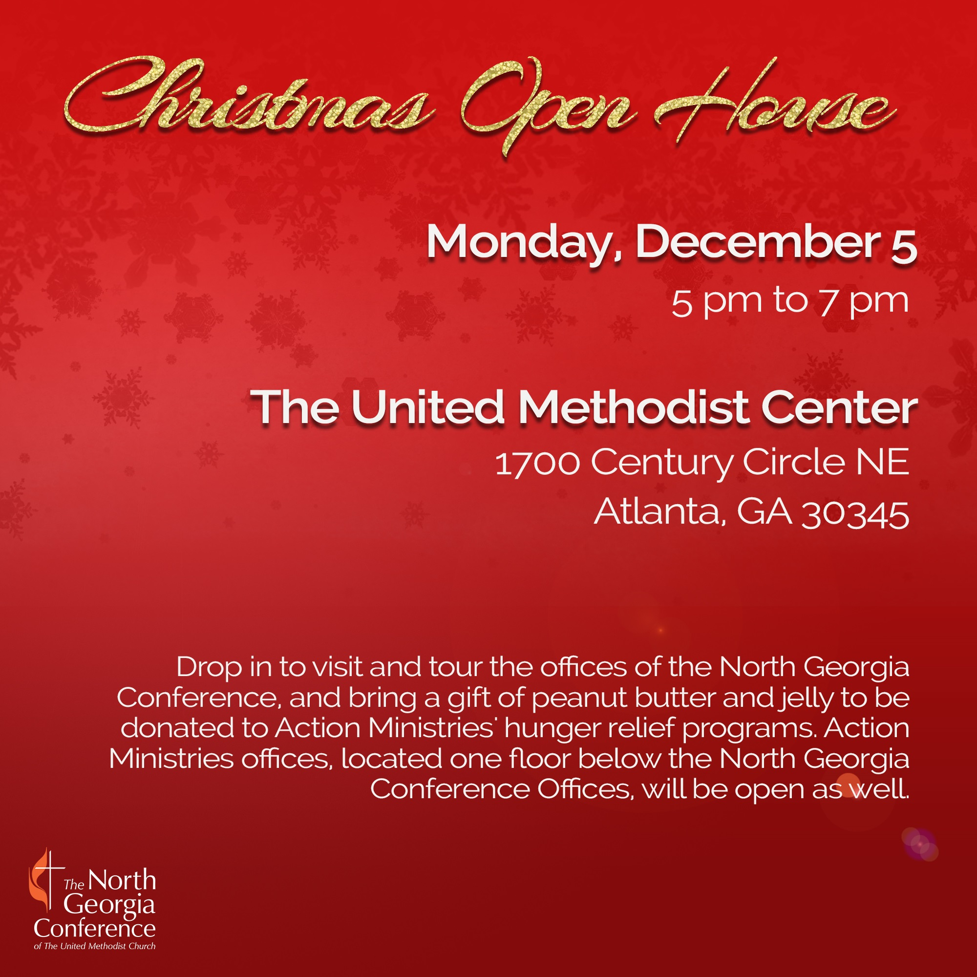 Ngumc You Re Invited To The United Methodist Center Christmas Open House